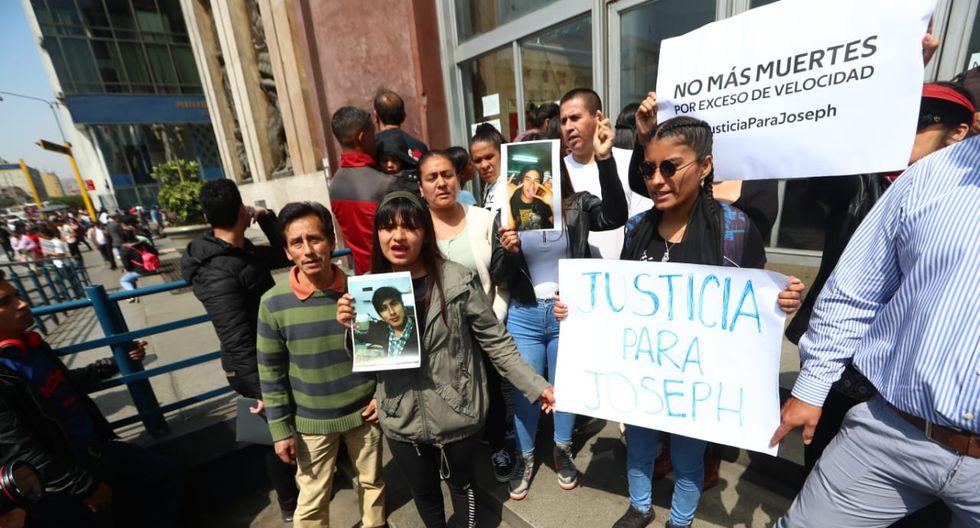 Fortunanto Huashuayo, padre de Joseph Huashuayo Tenorio, apelará a la decisión del Poder Judicial que deja en libertad a Melisa González.  (Foto: Alessandro Currarino / GEC)