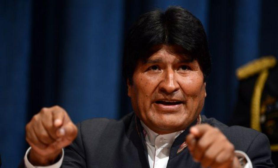 """El presidente boliviano aseguró ante la ONU que los soldados eran """"presos políticos"""". (Foto: AFP)"""