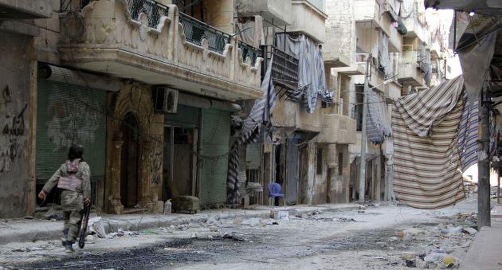 La ciudad de Aleppo, al norte de Siria, es una de las más afectadas por el conflicto. (Foto: AFP)