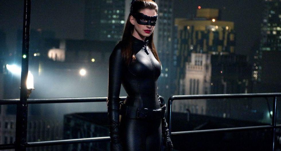 Anne Hathaway en 'Batman: The Dark Knight Rises'.