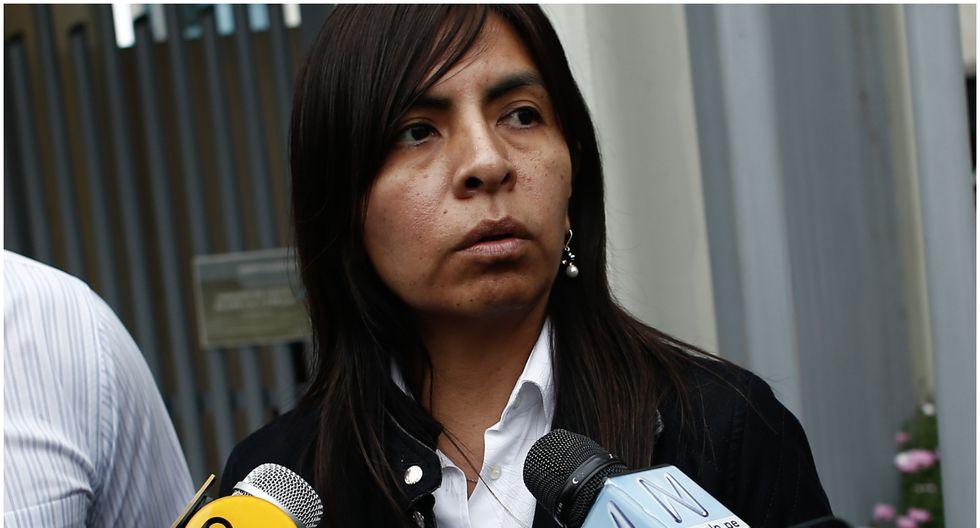 Giulliana Loza busca que se anule la orden de 15 meses de prisión preventiva contra Keiko Fujimori como parte de la investigación que se le sigue por el caso Odebrecht. (GEC).