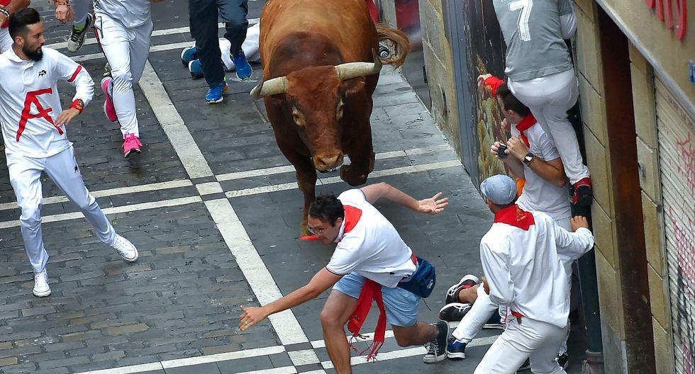 Las fiestas de San Fermín son de las más famosas de España. (Foto: AFP)