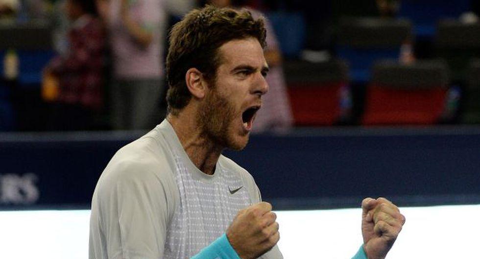 El argentino Del Potro tuvo un juego casi perfecto ante Nadal. (AFP)