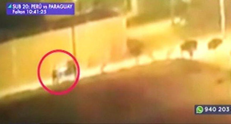 Cruciales imágenes de lo ocurrido en Carabayllo. (Foto: Captura/Latina)
