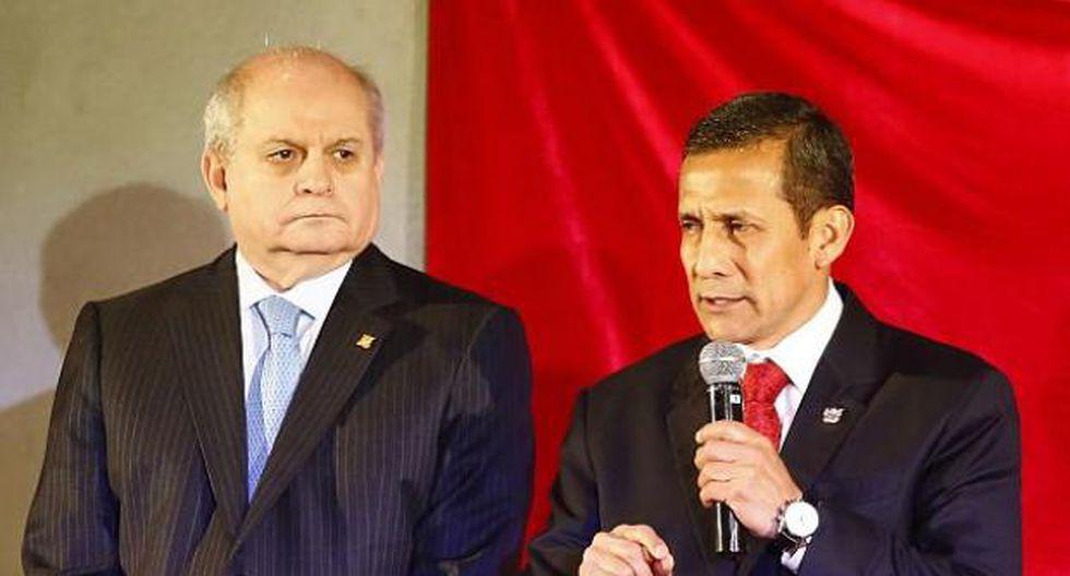 La denuncia presentada por la Procuraduría Anticorrupción del Callao involucran al expresidente Ollanta Humala y al exprimer ministro Pedro Cateriano. (Foto: GEC)