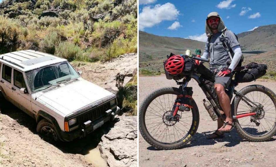 Un anciano se salvó de morir tras aventurarse por el desierto sin contar con el equipamiento adecuado. (Foto: upliftingtoday.com)