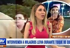 """Juliana Oxenford  a Milagros Leiva: """"Los periodistas no somos los reyes del mundo""""   VIDEO"""