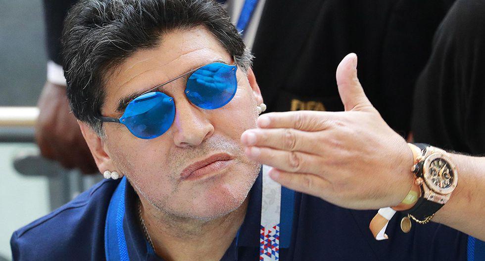 Diego Maradona tiene 3 hijos en Cuba que aún no reconoce. (Foto: EFE)