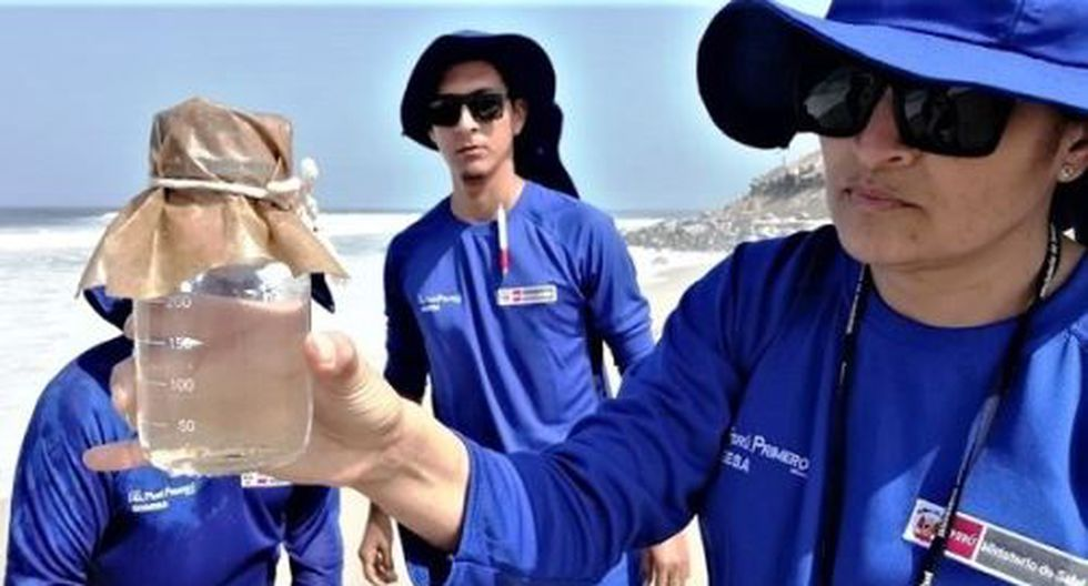 Digesa intensifica el monitoreo de agua de mar de distintas playas de la Costa Verde donde se desarrollarán competencias en el marco de Lima 2019. (Foto: Andina/Referencial)