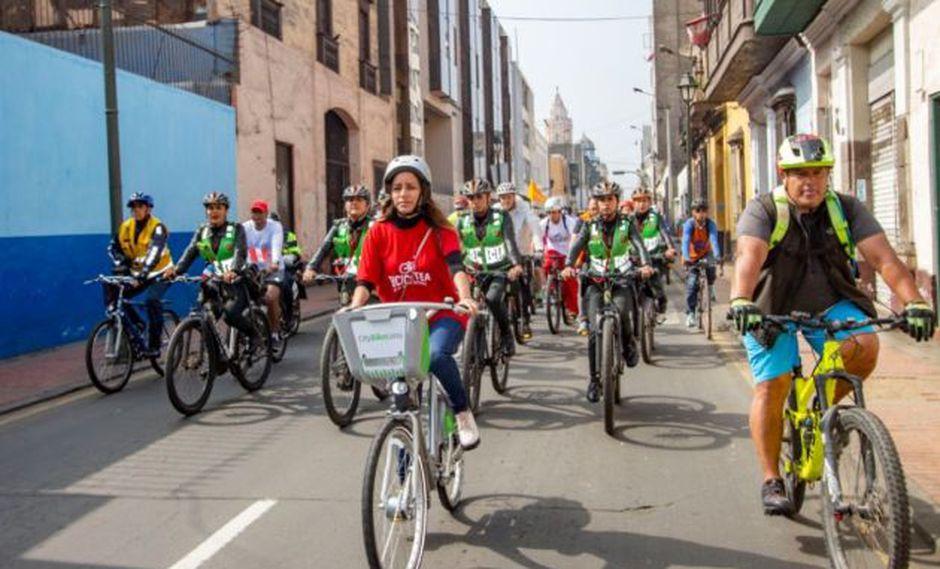 Cerrarán accesos a la Vía Expresa de Paseo de la República por bicicleteada