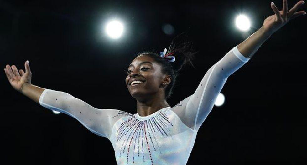 Simone Biles también se consagró en el 2013, 2014, 2015 y 2018. (Foto: AFP)