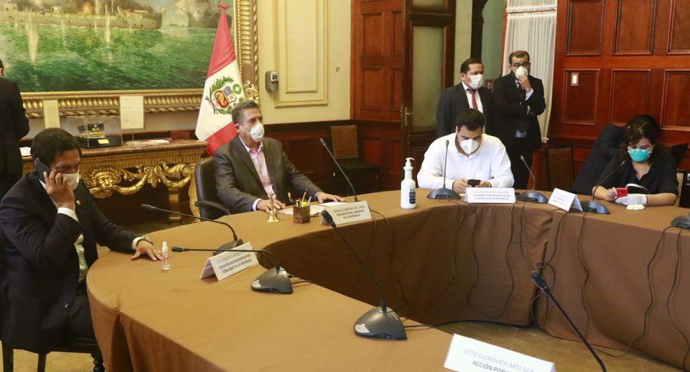 La sesión tiene por objetivo definir las iniciativas que se verán en el primer pleno virtual que realizará este poder del Estado. (Foto: Congreso de la República)