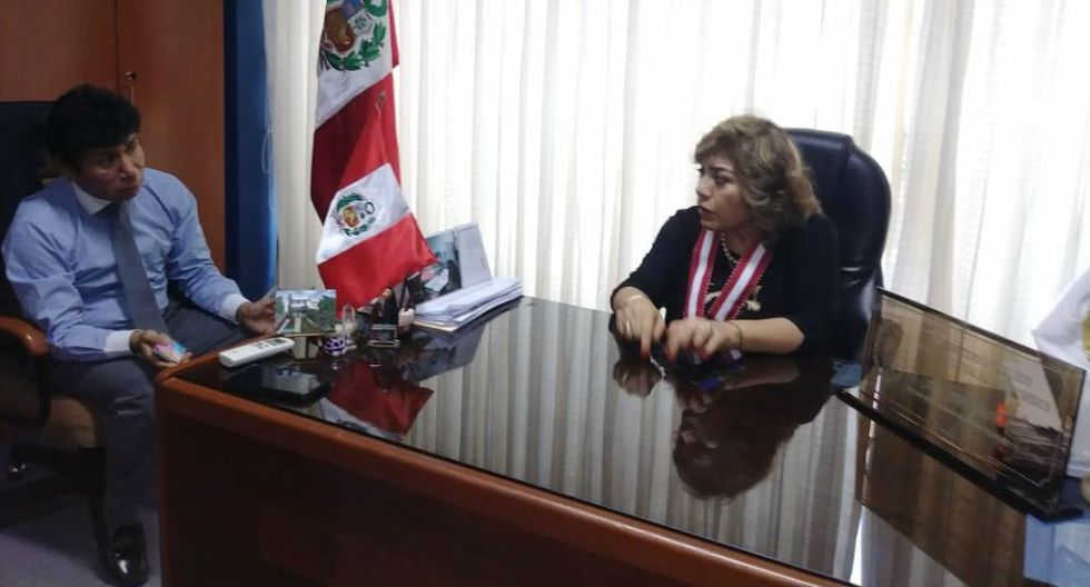 Esta visita es la primera que Zoraida Ávalos realiza a una región del país luego de juramentar en el cargo el pasado viernes.(Foto: Ministerio Público)