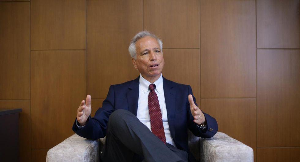 Aldo Vásquez, presidente de la Junta Nacional Justicia. (Foto: Jesús Saucedo/GEC)