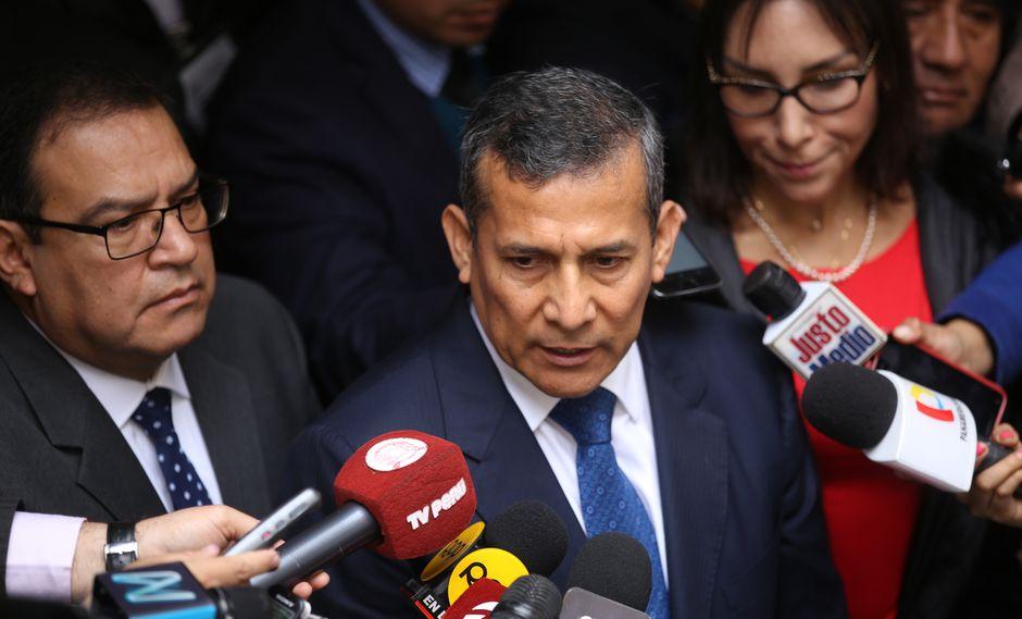 La defensa del expresidente Ollanta Humala señaló que apelarán la decisión del juez. (Foto: Congreso)