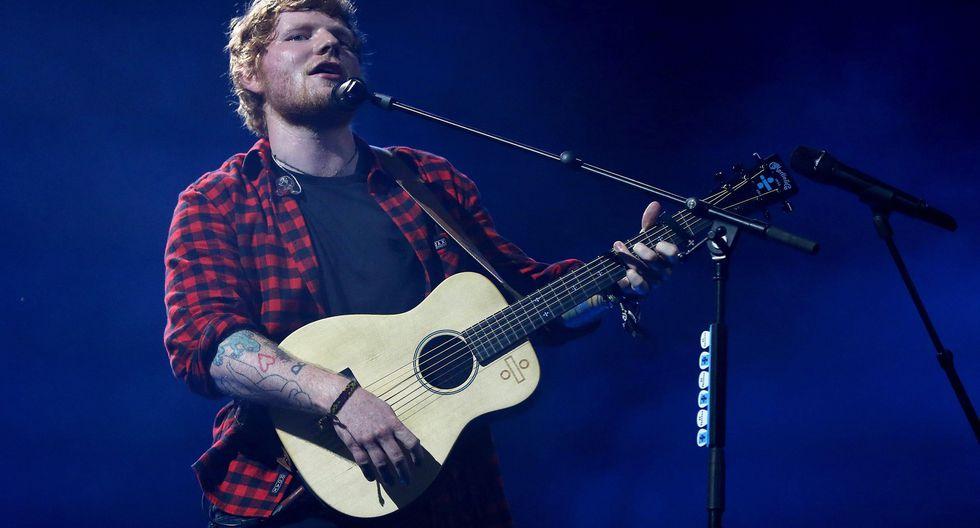 Ed Sheeran a terminó en el tercer lugar del famoso ránking con US$110 millones. (Foto: EFE)