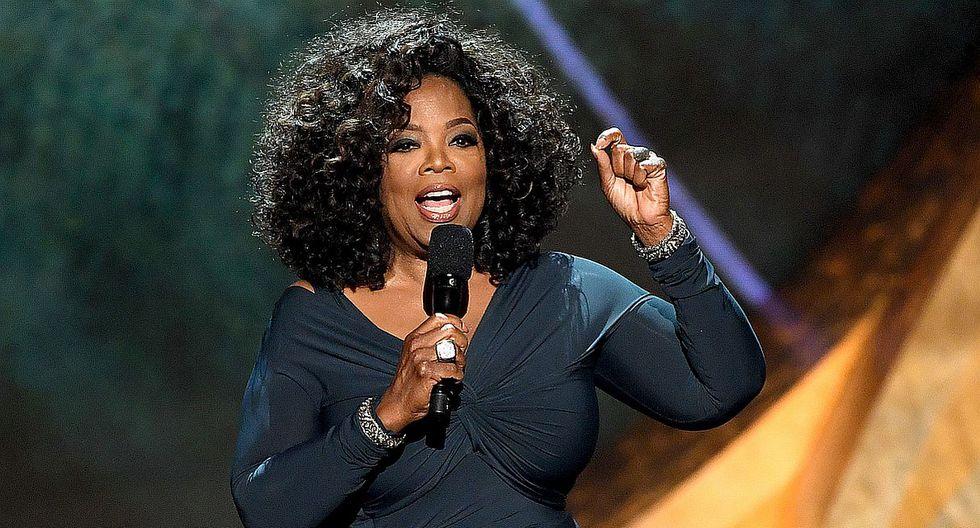 La popular conductora de televisión Oprah Winfrey celebra sus 65 años como una de las mujeres más poderosas del mundo. (Foto: AFP)