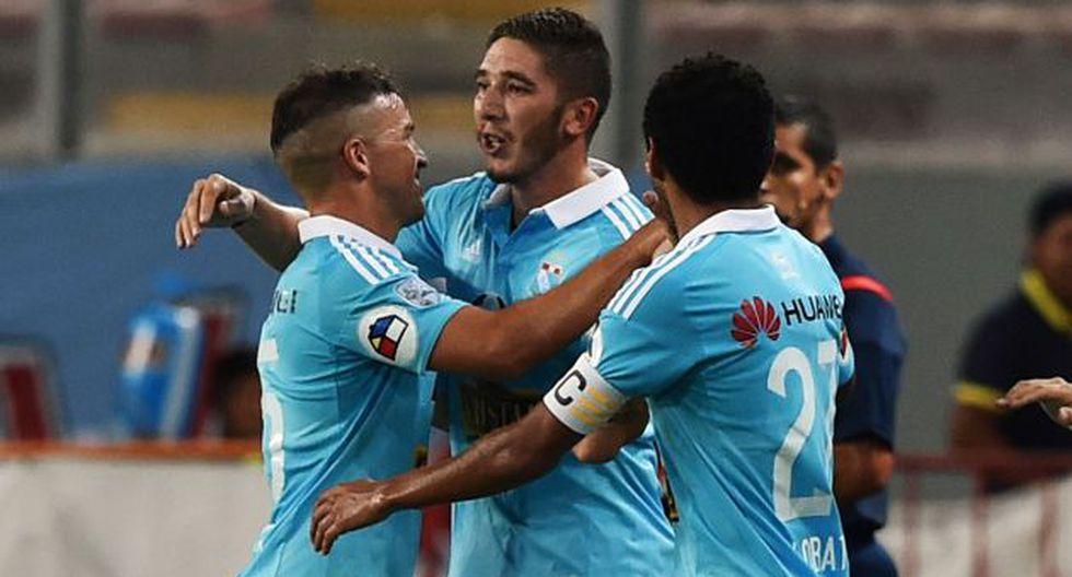 Sporting Cristal goleó 7-1. (AFP)