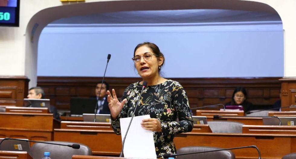 Milagros Salazar señaló que se pondrá a disposición de la Comisión de Ética. (Foto: Congeso)