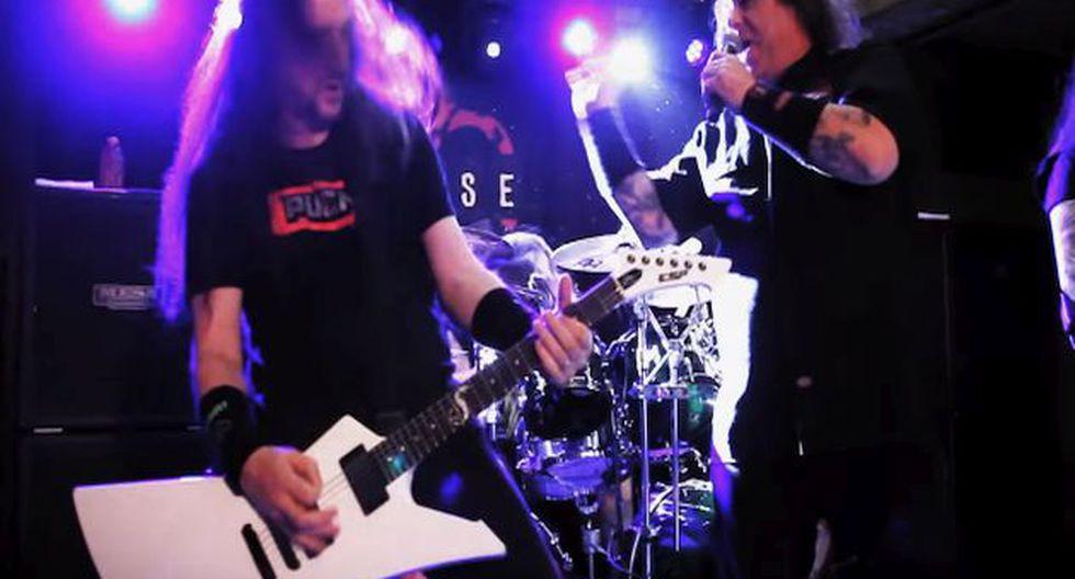 Exodus y Ratos de Porao ofrecerán un concierto este 8 de septiembre en la capital. (Foto:Black Star Entertainment)