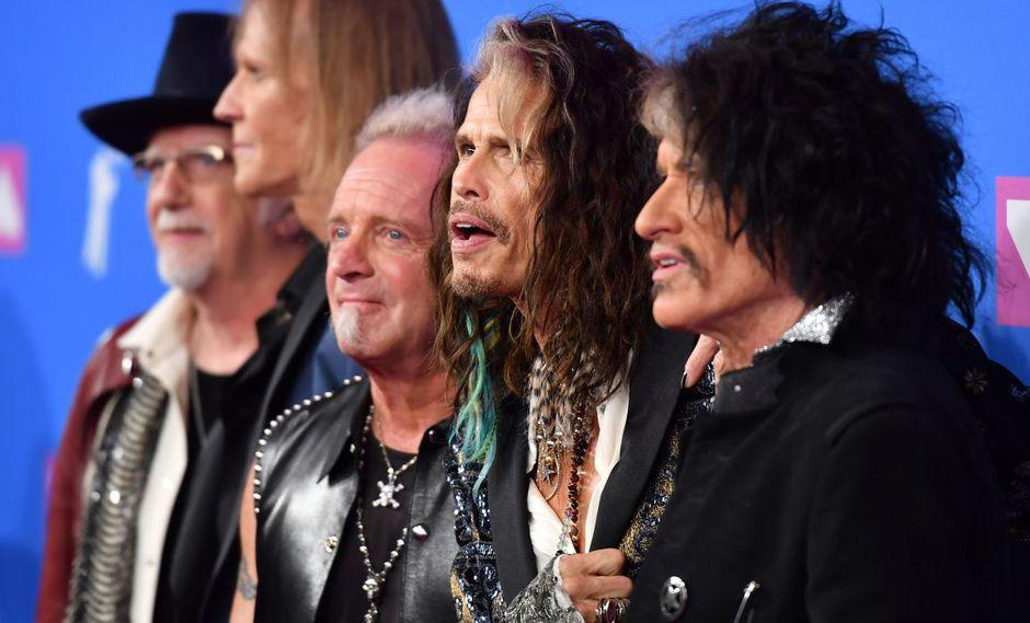 Joey Kramer, baterista de Aerosmith, demandó a la banda por no dejarlo tocar en los homenajes que recibirán en los Grammy 2020. (Foto: AFP)