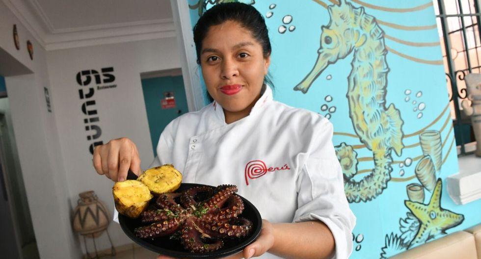 El pulpo a la parrilla del restaurante 'La Quinta 615'. (Foto: GEC)