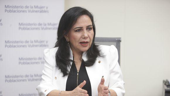 Gloria Montenegro destacó la importancia de la paridad y alternancia en listas al Congreso. (Foto: GEC)