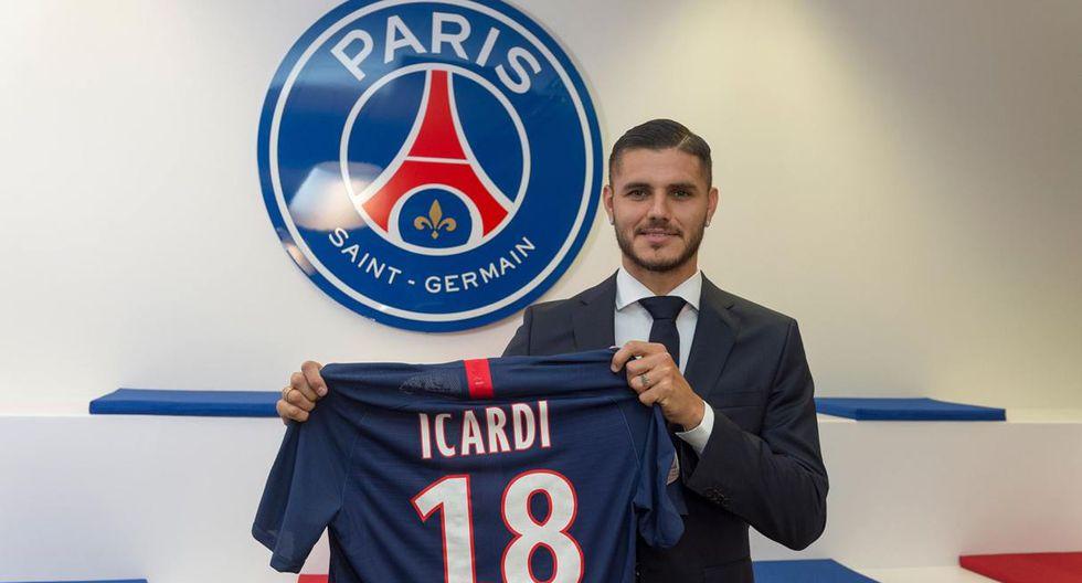 Mauro Icardi jugará en el PSG desde esta temporada. (Foto: @PSG_inside)