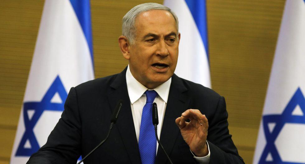 De momento el partido de Netanyahu, el Likud empezó el proceso de disolución del parlamento (Knesset). (Foto: AFP)