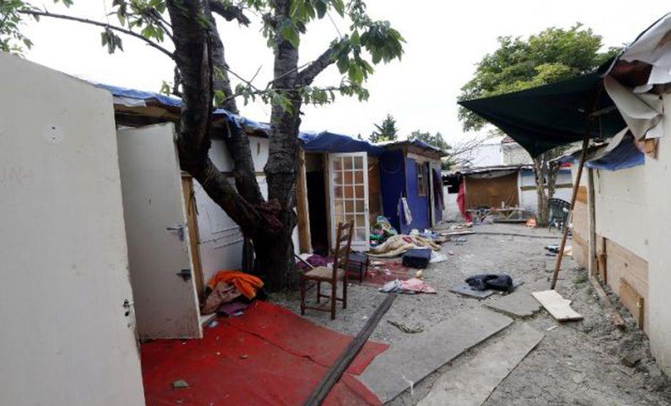 Lugar donde fue llevado por sus agresores. (Foto: AFP)