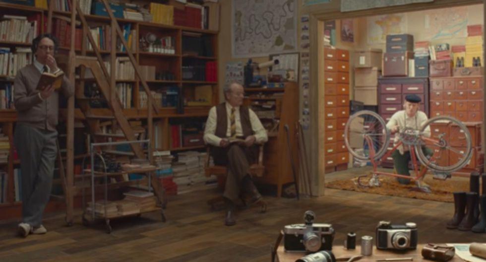 """Wes Anderson regresa con el juguetón tráiler de """"The French Dispatch"""" (Foto: Captura)"""