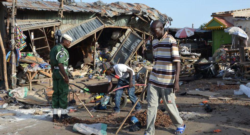 Los pobladores se resignan ante el desastre. (Foto: AFP)