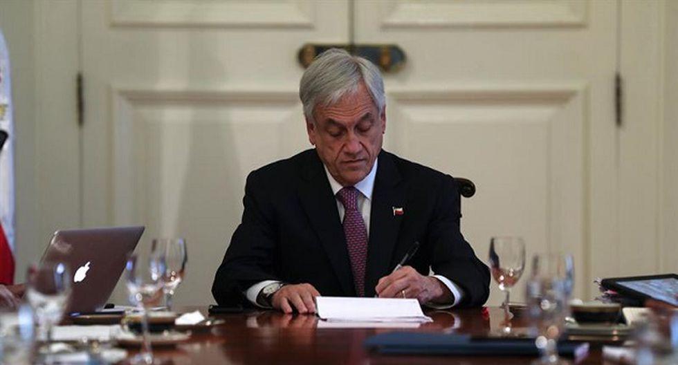 Sebastián Piñera, presidente de Chile, se pronunció tras fallo de La Haya (Foto: EFE)