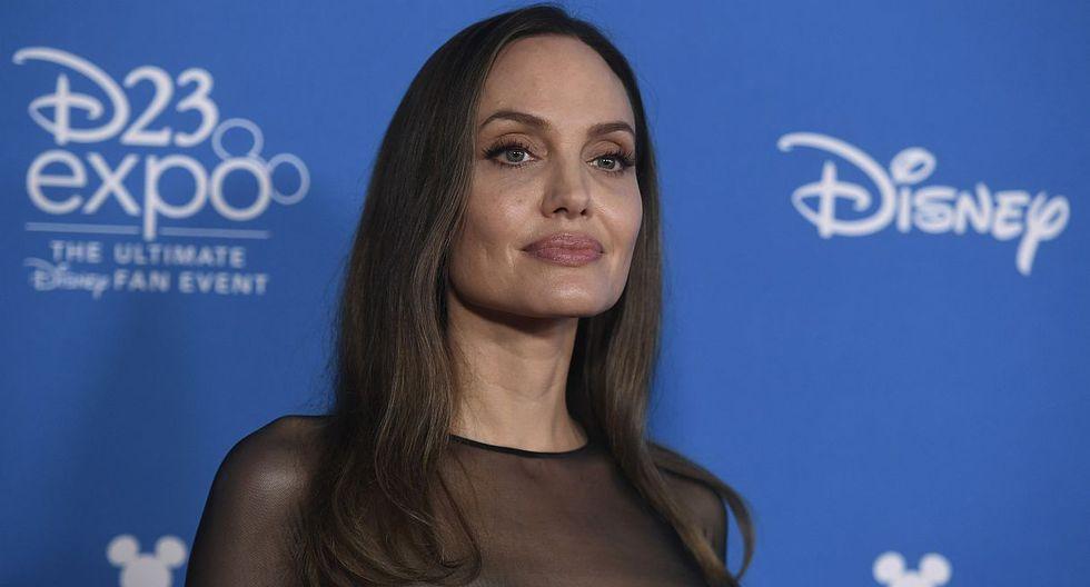 Angelina Jolie rompe su silencio y confiesa que su vida no ha sido fácil tras su separación de Brad Pitt. (Foto: AFP)