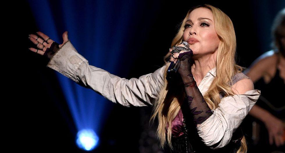Madonna desata rumores sobre un romance con un bailarín de 25 años. (Foto: AFP)