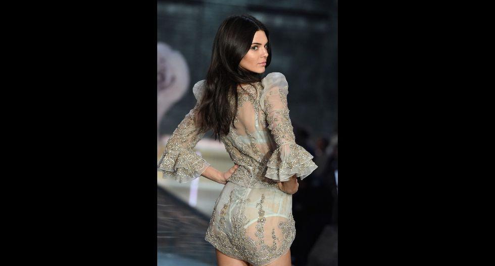 Kendall Jenner se convirtió en la modelo mejor pagada del 2018 (AFP)