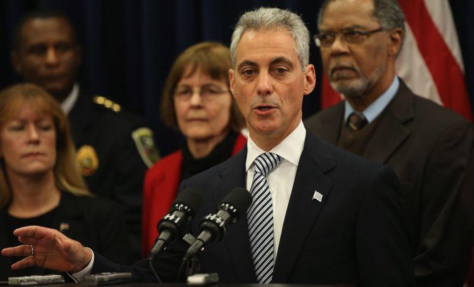 El alcalde Rahm Emanuel estimó que en los próximos cinco años se necesitarán 1.000 millones de dólares extras para balancear el déficit de los fondos de pensión. (Foto: AFP).