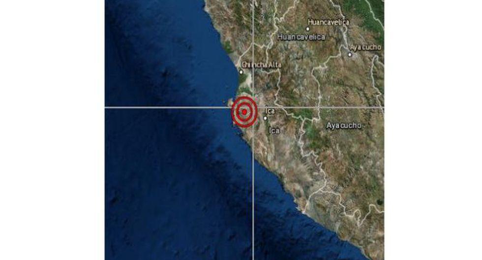 Indeci no han reportado daños personales ni materiales a causa del temblor. (Foto: IGP)