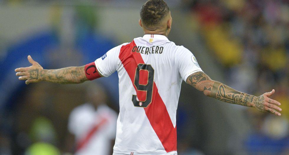 Paolo Guerrero, capitán de nuestra selección. (Foto: AFP)