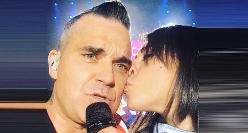 Robbie Williams se presentó en el Corona Music Capital Festival 2018 en México. (Foto: Captura de YouTube)