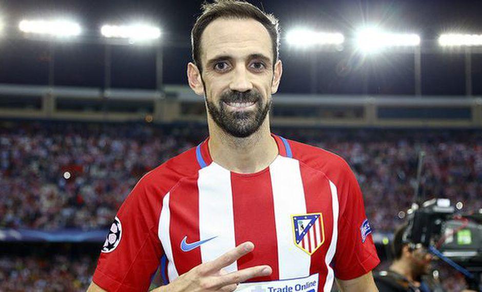 Juanfran jugado las últimas nueve temporadas por Atlético de Madrid. (Foto: Atlético de Madrid)