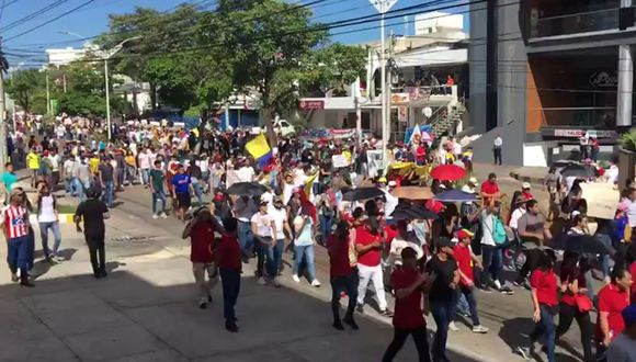 Colombia inicia este jueves un paro general contra el gobierno de Iván Duque. (Foto: Captura de video)