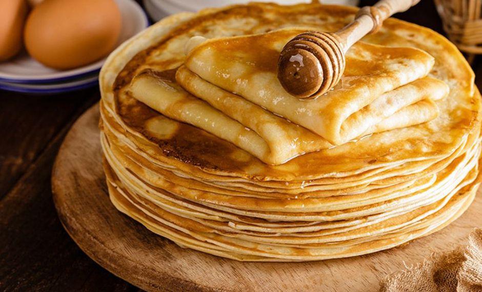 Ricos y fáciles panqueques con miel de Sandra Plevisani