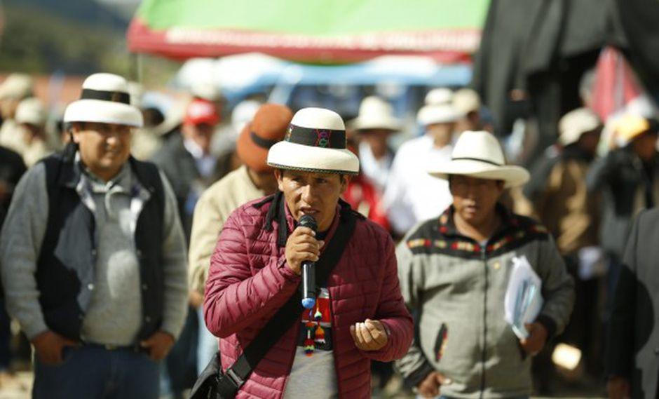 Las Bambas: Gregorio Rojas niega que vayan a bloquear nuevamente el corredor minero