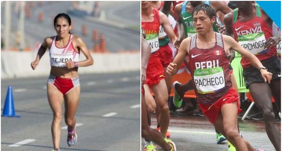 Gladys Tejeda y Christian Pacheco. (Agencia Andina)