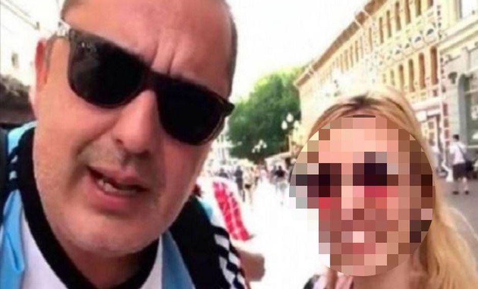 Prohíben entrada al fútbol por 2 años a autores de vídeos sexistas en Mundial. (Foto: Twitter)