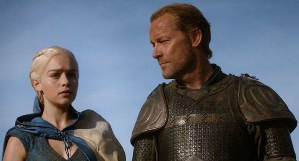 Emilia Clarke dedicó un emotivo mensaje a Iain Glen, actor que dio vida a Jorah Mormont en 'Game of Thrones'. (Foto: HBO)