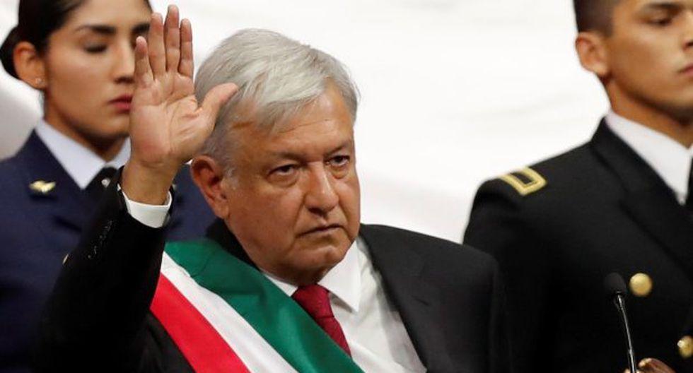 """""""Nada ha dañado más a México que la deshonestidad de los gobernantes"""", señaló el nuevo presidente de México. (Foto: EFE)"""