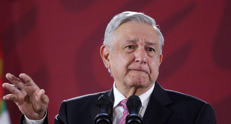 El presidente de México, Andrés Manuel López Obrador, durante su conferencia de prensa matutina en Ciudad de México. Obrador prometió este lunes apoyar a Argentina a salir de la crisis económica que atraviesa. (Foto: EFE)