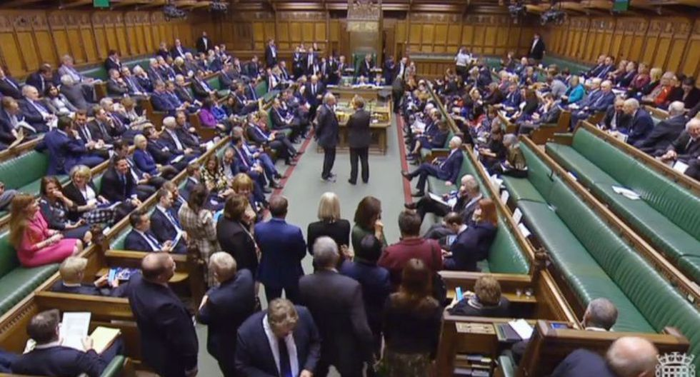 Parlamento británico apoya pedir a la UE retrasar la fecha del Brexit. (Foto: EFE)
